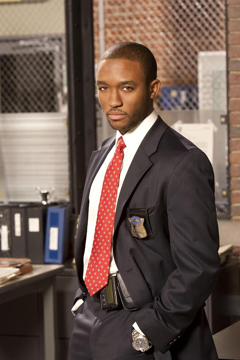 "This publicity photo released by TNT shows Lee Thompson Young as Detective Barry Frost in the TV series, ""Rizzoli & Isles."" Los Angeles police say Young, 29, was found dead Monday morning, Aug. 19, 2013. The actor started his career as a teenager in the TV series ""The Famous Jett Jackson"" and was co-starring in the series ""Rizzoli & Isles."" (AP Photo/TNT, Darren Michaels)"
