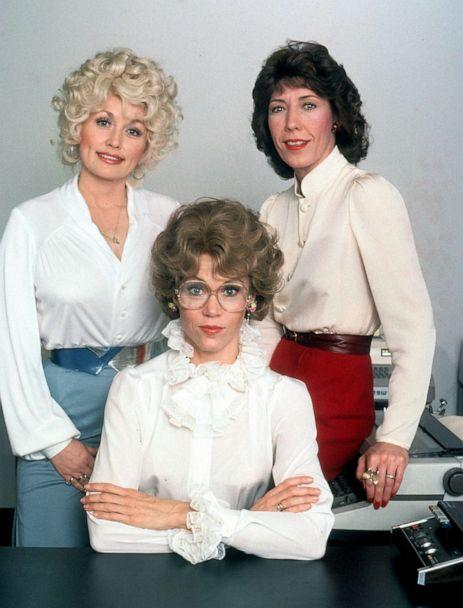PHOTO: Dolly Parton, Jane Fonda and Lily Tomlin in publicity portrait for the film 'Nine to Five,' 1980. (Archive Photos/Getty Images, FILE)