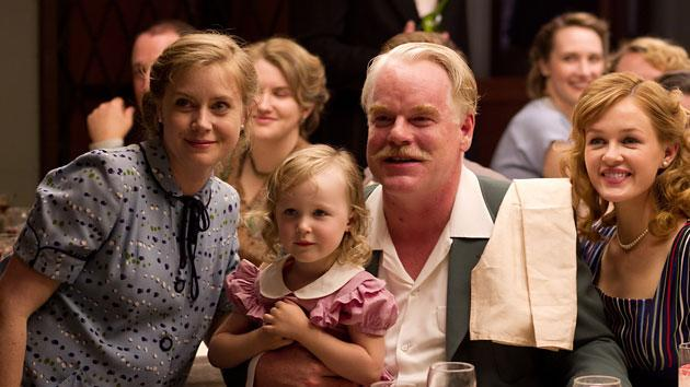 "Amy Adams (""The Master""): SURE THING America's sweetheart is living a less ""Enchanted"" life as the wife of a cult leader (Philip Seymour Hoffman) and rival of his alcoholic disciple (Joaquin Phoenix). Adams does pregnant and steely and takes no lip in a carefully calibrated performance."