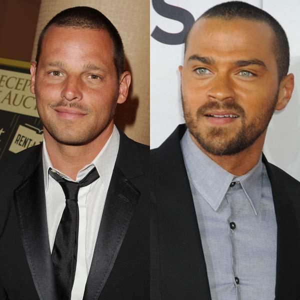 Dr Karev and Dr Avery  I have no idea what their name are in real life but to me they're Dr Alex Karev and  DR. Jackson Avery! What I'd do to gobble them both up for V-Day...I'm utterly and completely obsessed with Grey's Anatomy and they both could well be the reason for that too.