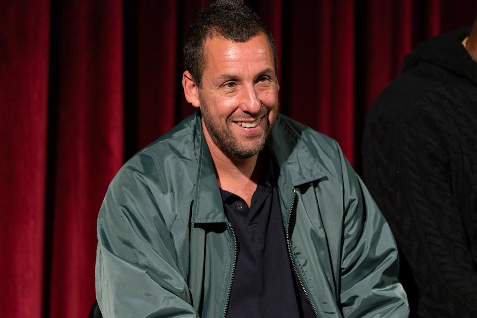 Adam Sandler attends The Academy Of Motion Picture Arts & Sciences Hosts An Official Academy Screening Of UNCUT GEMS at MOMA - Celeste Bartos Theater on December 03, 2019 in New York City. (Photo by Mark Sagliocco/Getty Images for The Academy of Motion Picture Arts & Sciences )