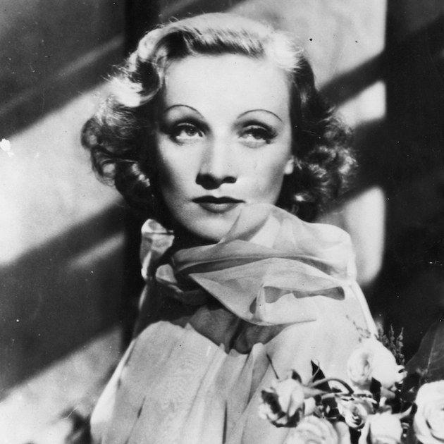 """<p>Born Marie Magdalene Dietrich, Dietrich's family nicknamed her """"Lena"""" and """"Lene."""" By age 11, Dietrich combined her nicknames to create """"Marlene.""""</p>"""