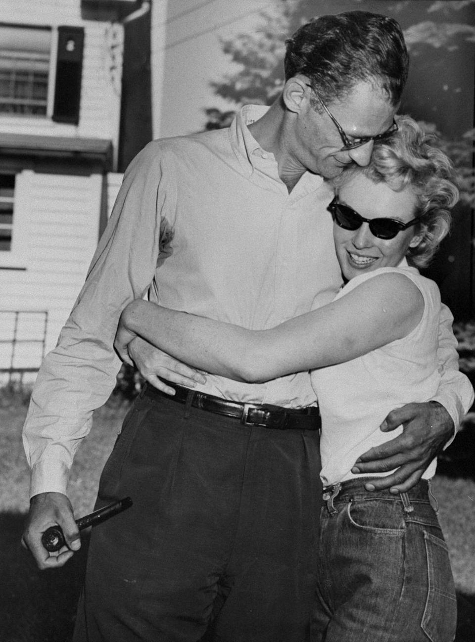 <p>Marilyn married Arthur Miller, a famous playwright best known for his Pultizer-award-winning play, <em>Death of a Salesman</em>. </p>