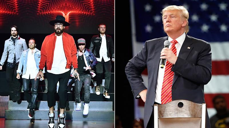 Backstreet Boys to Donald Trump: Stop Playing 'I Want It That Way'