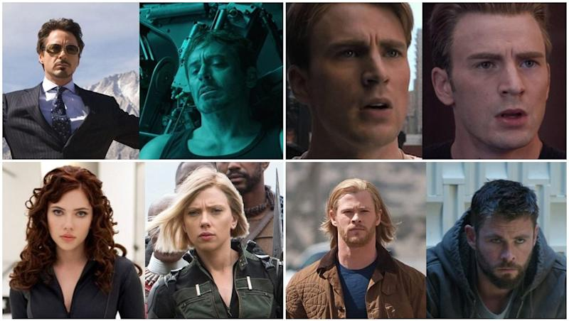 Marvel Studios just shared the ultimate Avengers 10-Year Challenge