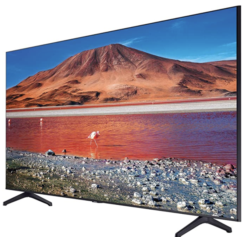 "Samsung Class UN50TU7000FXZX - TV 50"" Crystal 4K UHD Smart Tv (2020). Foto: Amazon.com.mx."