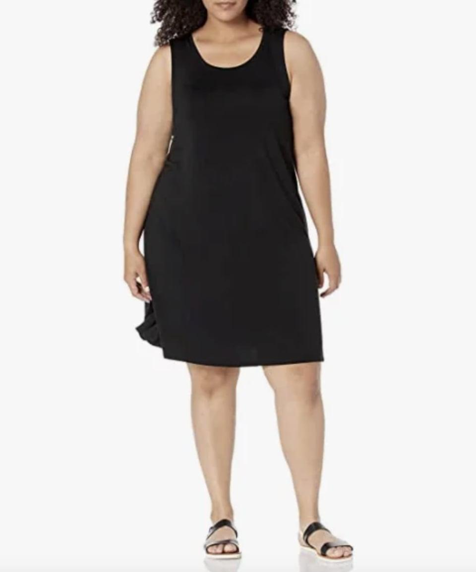 <p>Go for a timeless and comfy look in this <span>Amazon Essentials Tank Swing Dress</span> ($26 - $28).</p>