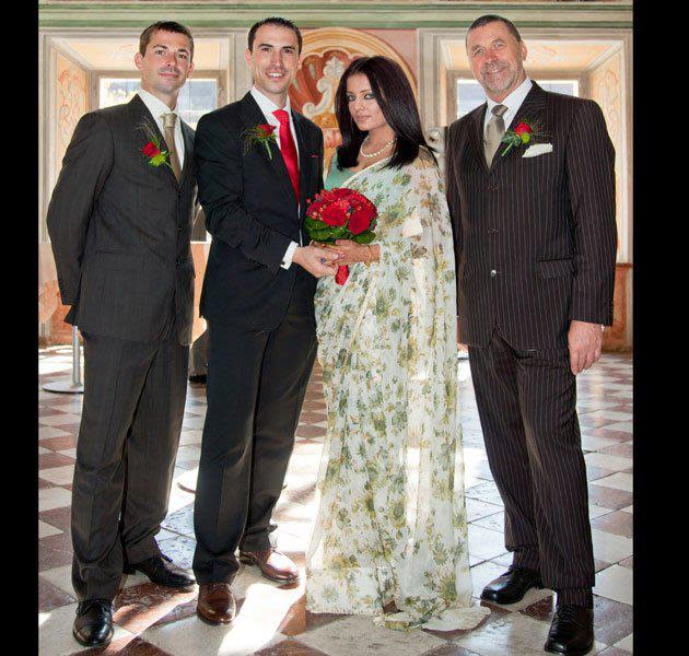 <p>The former Miss India had appeared in a handful of Bollywood movies before realizing it is not something made for her. But she was totally made for the marital bliss she is enjoying these days with a doting husband, Peter Haag, who owns a chain of hotels in Singapore and Dubai. The couple have 3 children together. </p>