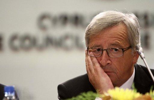 President of Eurogroup, Jean-Claude Juncker