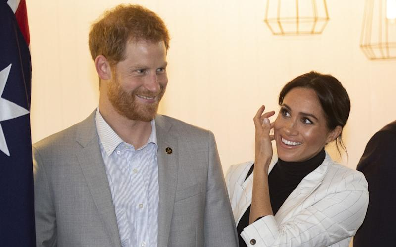 The Duke and Duchess of Sussex are expecting their first child next year - Getty Images AsiaPac