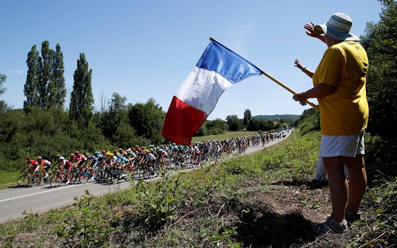 The Tour de France gets under way on July 7 when 176 riders will line-up in Noirmoutier-en-l'île - REUTERS