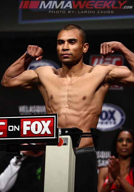 UFC on Fuel TV 9 Drug Tests: Robbie Peralta Tests Positive for Marijuana Metabolites