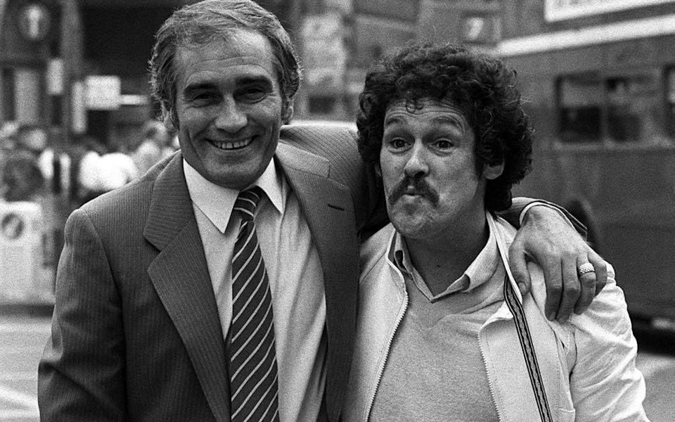 Tommy Cannon and Bobby Ball were comedy giants in their heyday  - PA