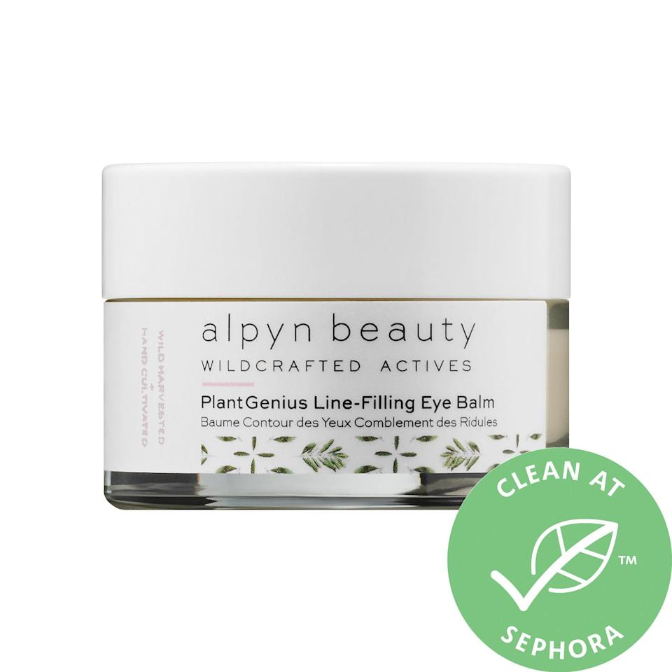 """<p>Yes, this <a href=""""https://www.popsugar.com/buy/Alpyn-Beauty-PlantGenius-Line-Filling-Eye-Balm-Bakuchiol-553524?p_name=Alpyn%20Beauty%20PlantGenius%20Line-Filling%20Eye%20Balm%20With%20Bakuchiol&retailer=sephora.com&pid=553524&price=62&evar1=bella%3Aus&evar9=47301825&evar98=https%3A%2F%2Fwww.popsugar.com%2Fbeauty%2Fphoto-gallery%2F47301825%2Fimage%2F47301862%2FAlpyn-Beauty-PlantGenius-Line-Filling-Eye-Balm-With-Bakuchiol&list1=sephora%2Cspring%20beauty%2Cskin%20care&prop13=api&pdata=1"""" rel=""""nofollow noopener"""" class=""""link rapid-noclick-resp"""" target=""""_blank"""" data-ylk=""""slk:Alpyn Beauty PlantGenius Line-Filling Eye Balm With Bakuchiol"""">Alpyn Beauty PlantGenius Line-Filling Eye Balm With Bakuchiol</a> ($62) is fairly new at Sephora, but it's already racked up thousands of loves from other shoppers. There's brightening <a href=""""https://www.popsugar.com/beauty/How-Use-Vitamin-C-Skin-Care-43553852"""" class=""""link rapid-noclick-resp"""" rel=""""nofollow noopener"""" target=""""_blank"""" data-ylk=""""slk:ascorbic acid"""">ascorbic acid</a> inside, along with firming caffeine and algae to take on puffiness. Skin's cared for under the surface even more with plant-based, retinol-alternative bakuchiol, which supports cell turnover to smooth out fine lines.</p>"""