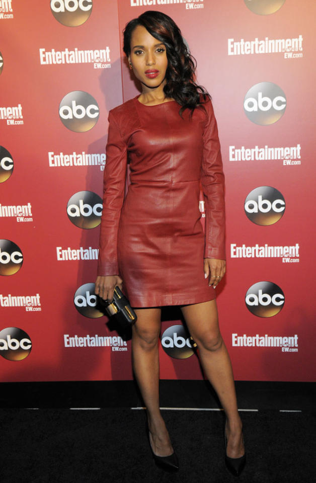 Kerry Washington attends the Entertainment Weekly & ABC 2013 New York Upfront Party at The General on May 14, 2013 in New York City.