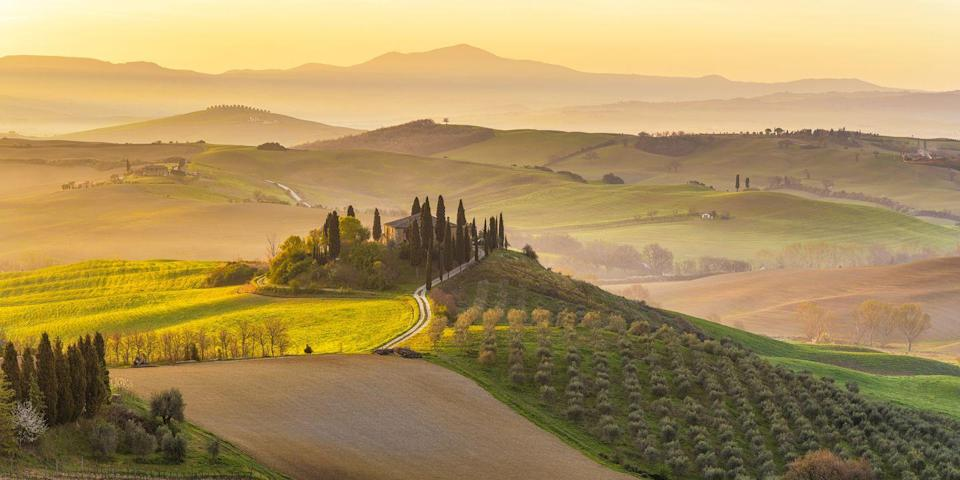 <p>So, maybe drinking wine before running is not a great idea, but drinking after a run can be incredibly soothing. Crisscross the paths through the Italian region's many vineyards only to end up back at your hotel, a bottle of wine in hand and no guilt about drinking it.</p>