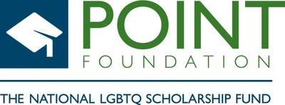 Point Foundation Logo (PRNewsfoto/Point Foundation)