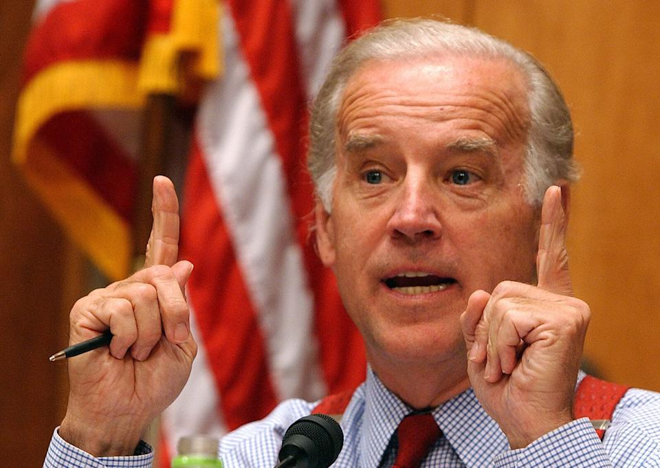 From 1999 through 2005, Sen. Biden was the leading Democratic supporter of bankruptcy reform legislation in the Senate. (Photo: ASSOCIATED PRESS)