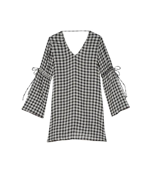 "<p>Gingham gauze shift dress, $148, <a href=""https://www.michaelstars.com/gingham-gauze-shift-dress-dgu54"" rel=""nofollow noopener"" target=""_blank"" data-ylk=""slk:michaelstars.com"" class=""link rapid-noclick-resp"">michaelstars.com</a> </p>"