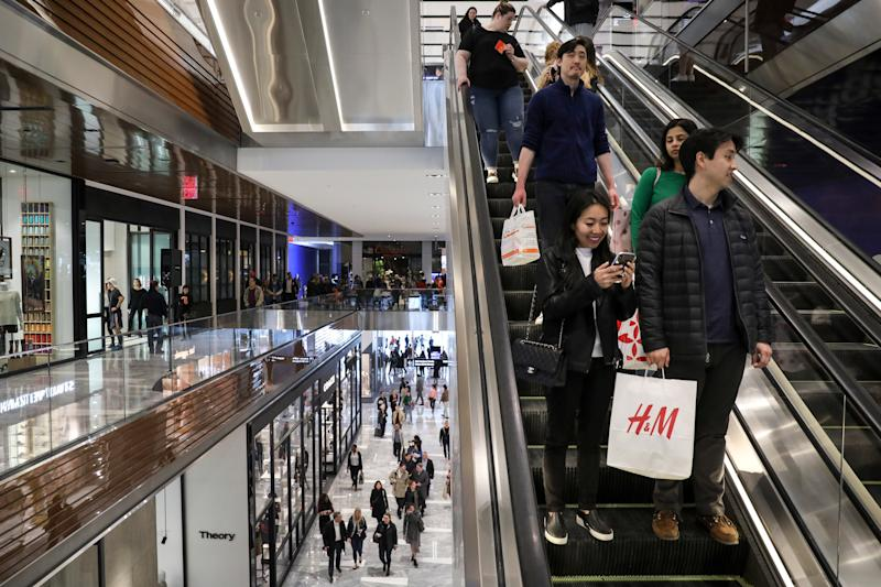 The 2019 mall experience is mesmerizing, but not entirely as comforting as it used to be.