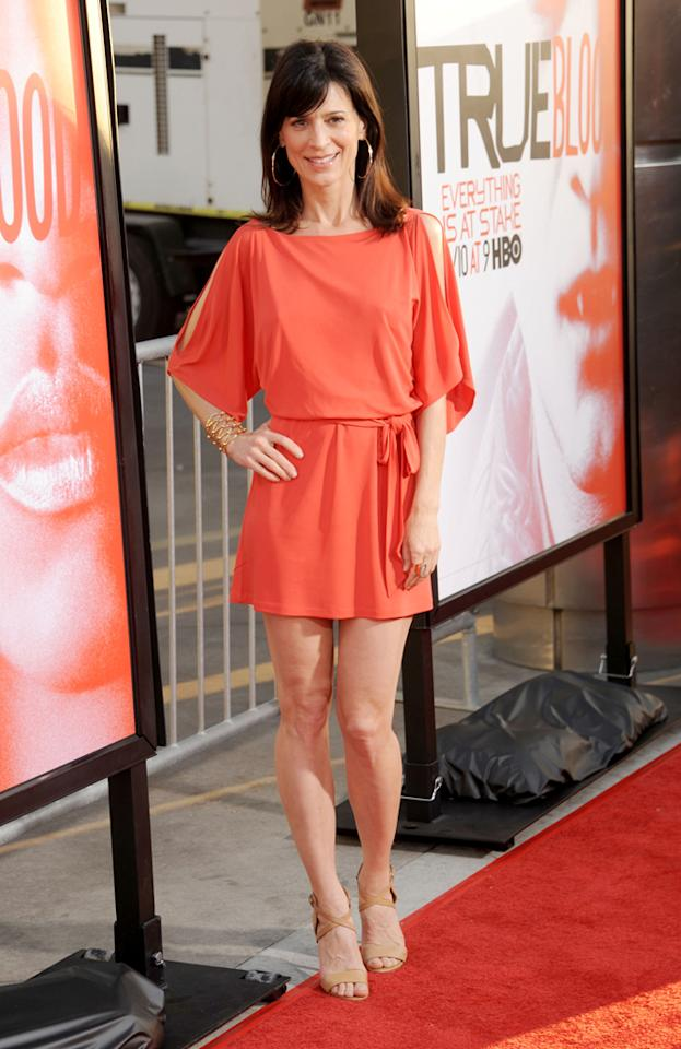 "Perrey Reeves attends HBO's ""True Blood"" Season 5 Los Angeles premiere at ArcLight Cinemas Cinerama Dome on May 30, 2012 in Hollywood, California."