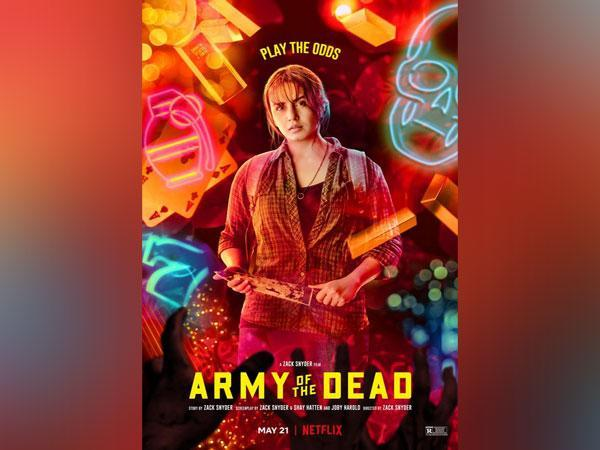 Huma Qureshi as Geeta from 'Army Of The Dead'