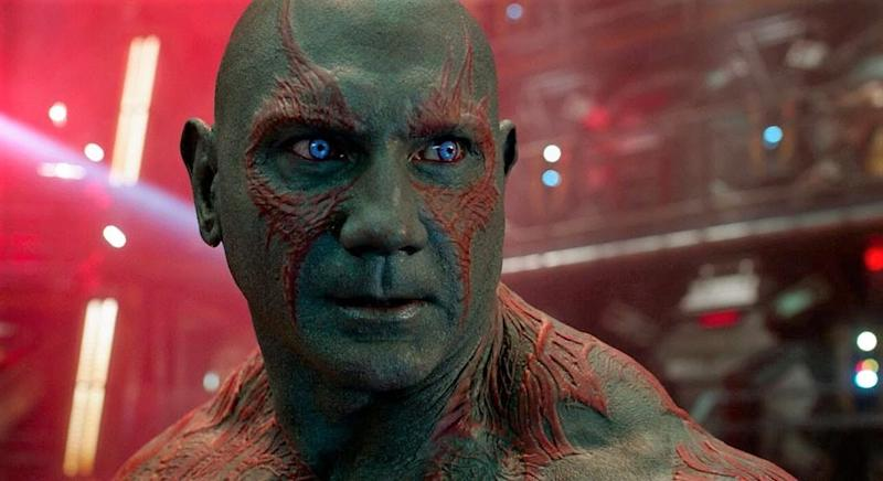 Bautista as Drax in Guardians of the Galaxy (Credit: Disney/Marvel)