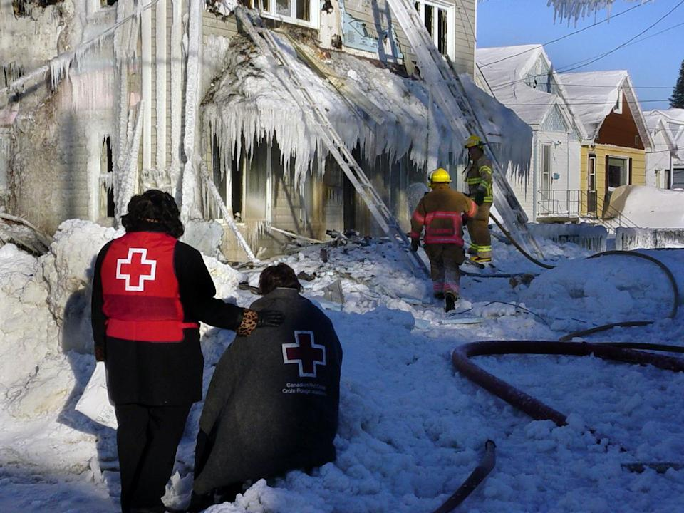 Ice storm/Canadian Red Cross