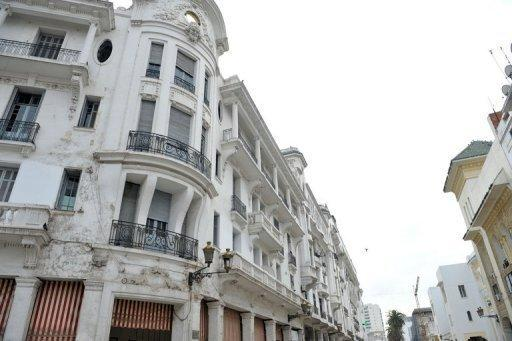Buildings, built in the 1930s, in the European district of Casablanca. Real-estate developers often look to buy historic properties, tear them down and build more modern apartment buildings through which they can charge higher rents and recoup expenses
