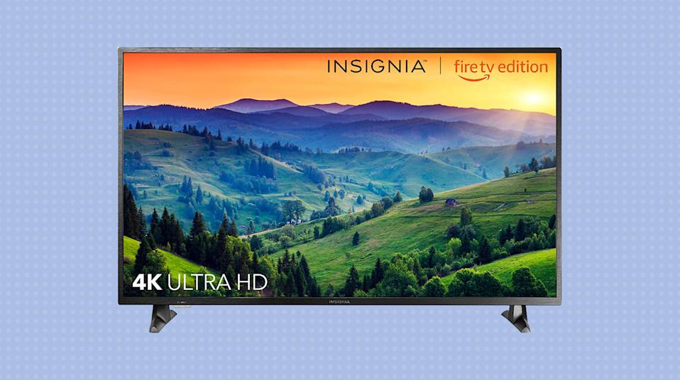 No need to get a streaming device for this 4K TV -- it's already built-in! (Photo: Amazon)