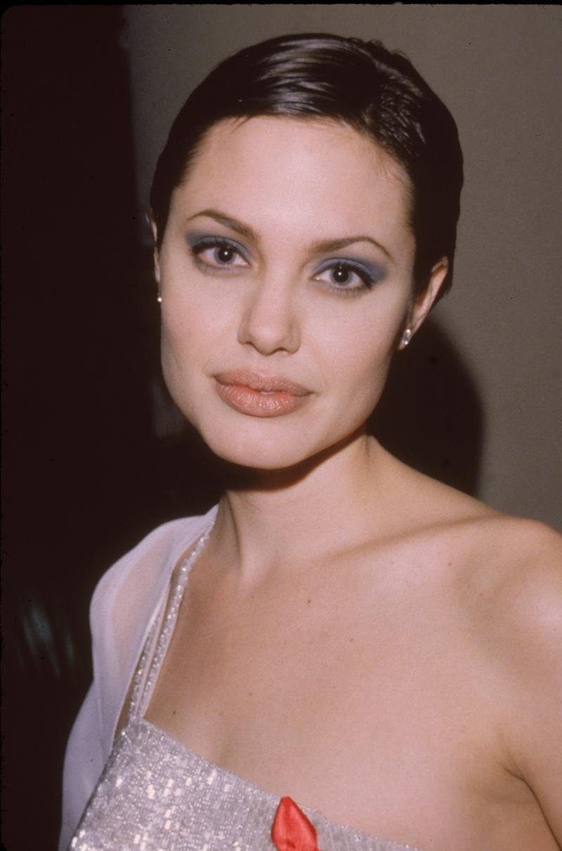 At the 55th Annual Golden Globe Awards -- where she won the award for Best Performance by an Actress in a Supporting Role in a Series, Mini-Series or Motion Picture Made for Television -- in Beverly Hills, California, on Jan. 18, 1998.