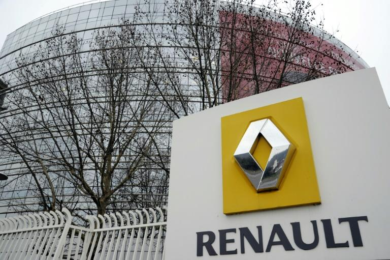 French car maker Renault's headquarters in Boulogne-Billancourt, west of Paris