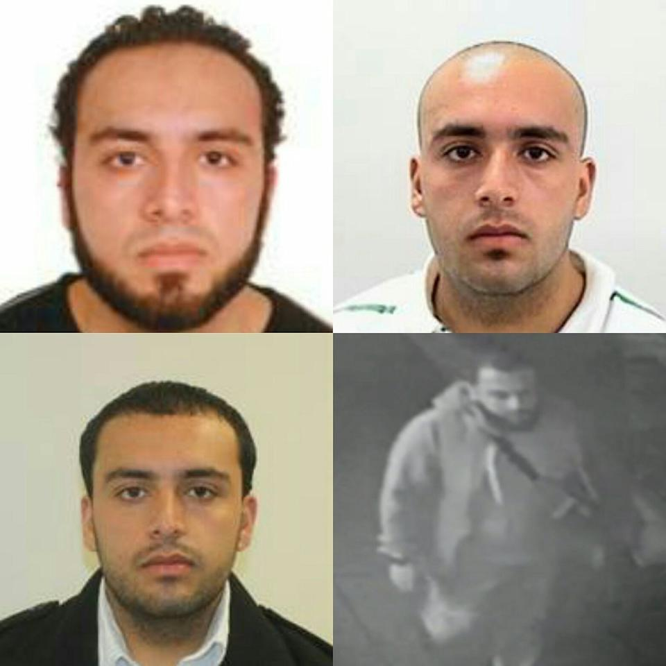 <p>Photos released by the New Jersey State Police of Ahmad Khan Rahami, captured in connection with explosions in New York City and New Jersey, on Sept. 19, 2016. (NJSP - State Police via Twitter)</p>