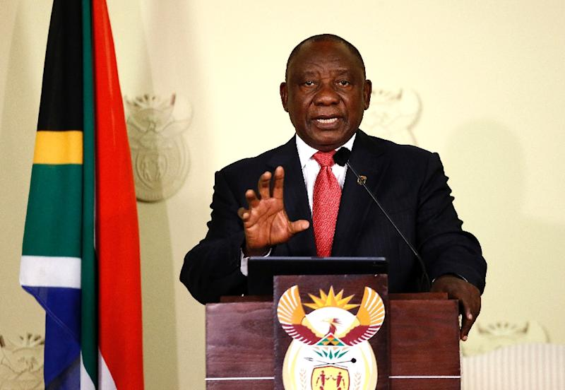 The shock contraction of South Africa's economy has heaped pressure on President Cyril Ramaphosa