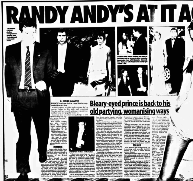 The report in The Sunday World in November 2000