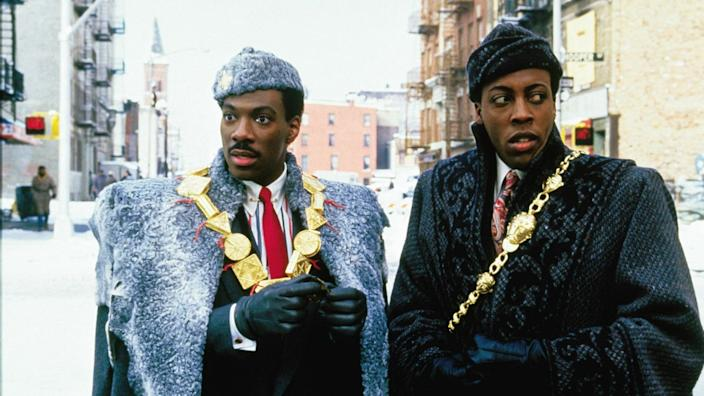 """Coming to America."""