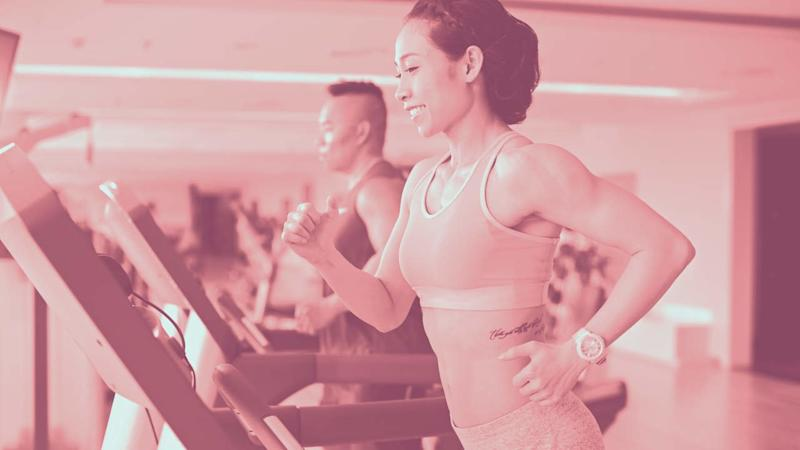 This 20-Minute Treadmill Interval Workout Builds Speed and Stamina