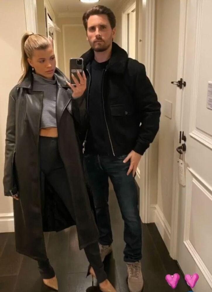 Sofia Richie and Scott Disick | Sofia Richie/Instagram