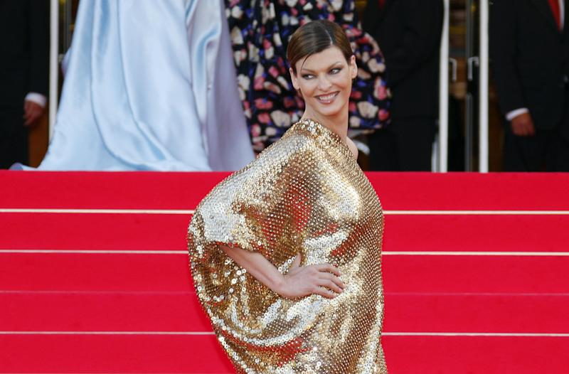 Supermodel Linda Evangelista is supporting four women accusing her ex-husband Gérald Marie of sexual assault and rape. (Photo: VALERY HACHE/AFP via Getty Images)