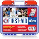 <p>This <span>Be Smart Get Prepared First Aid Kit</span> ($9) is always an essential.</p>