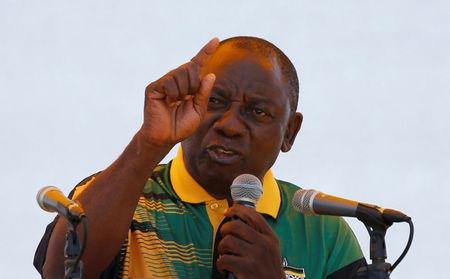 New ANC leader Ramaphosa pledges to fight corruption