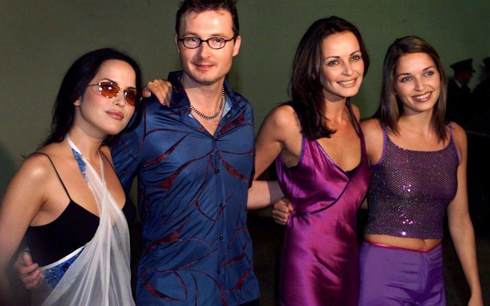 Andrea, Jim, Sharon and Caroline of The Corrs - Reuters