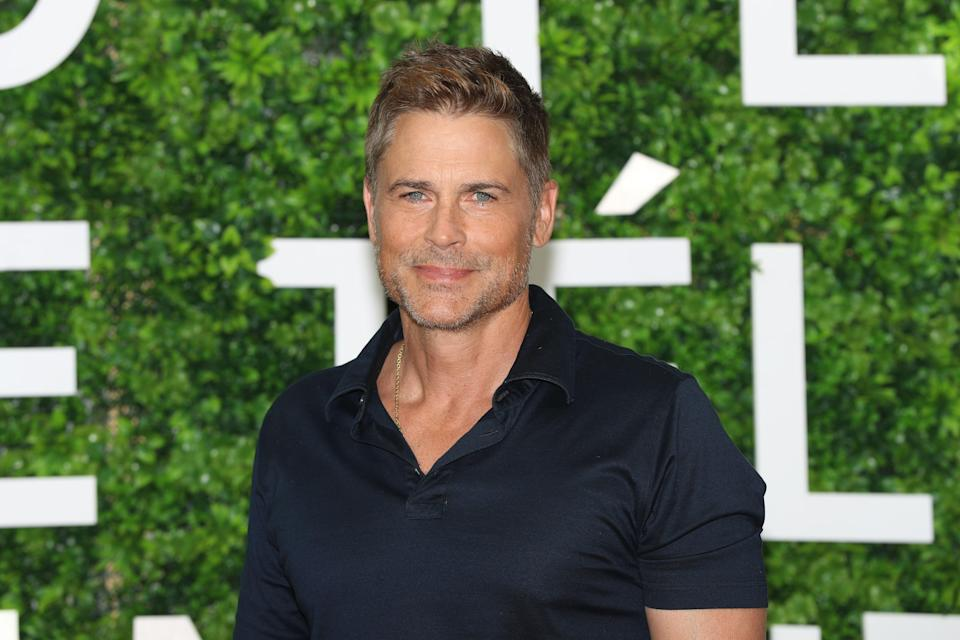 """Rob Lowe, Atkins celebrity spokesperson, says he's been """"living Atkins"""" for the last 20 years."""