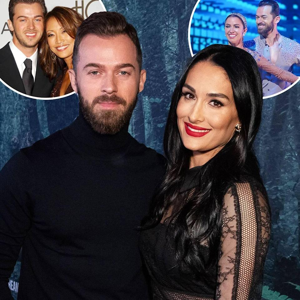 Nikki Bella Weighs in on Artem Chigvintsev & Carrie Ann Inaba's DWTS Drama