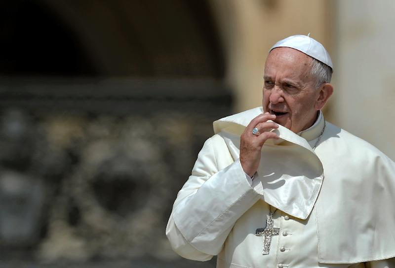 Siyar Khan is also suspected of involvement in a potential plot against Pope Francis (pictured)