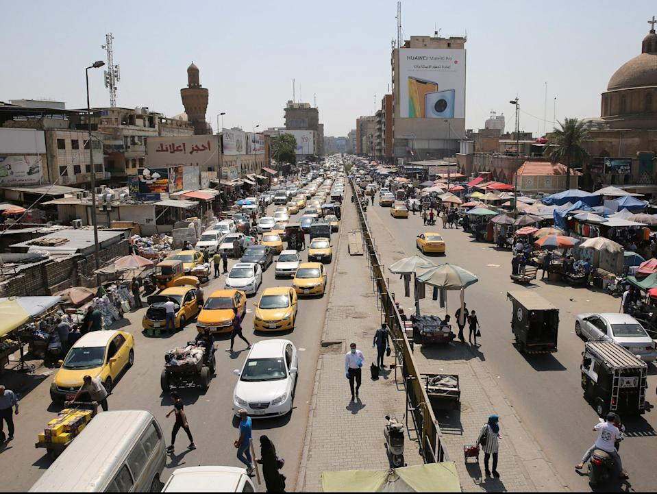 Baghdad has seen one of the largest spikes in domestic violence across Iraq (AFP via Getty Images)