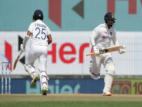 Pant and Pujara in action against England (Photo/ BCCI Twitter)