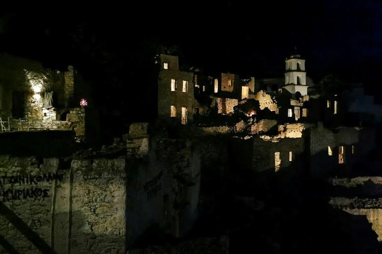 Mikro Chorio is one of many Greek villages now visited only by tourists