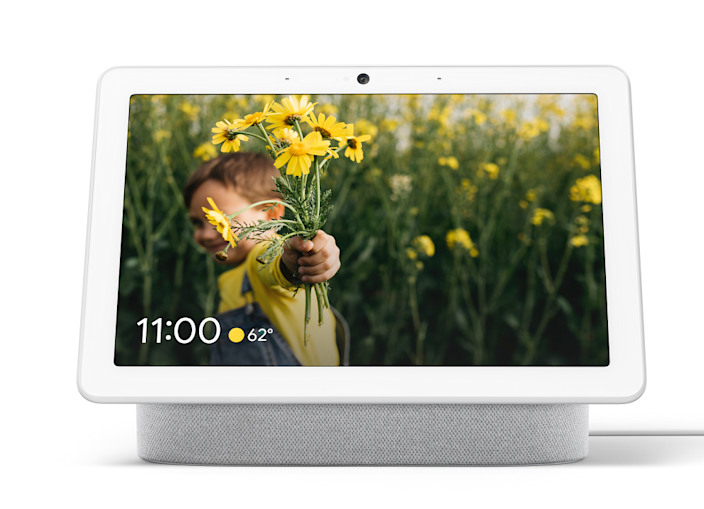 """<em>For the mom who likes to multitask:</em><br><h2>Google Nest Hub Max</h2>Part speaker, part picture frame, part TV, and part camera, the Google Nest Hub Max is the perfect kitchen counter resident. You can use it to call friends while on dishwashing duty, follow along with a YouTube cooking tutorial, or keep an eye on the house with the built-in Nest cam. <br><br><br><strong>Google</strong> Google Nest Hub Max, $, available at <a href=""""https://go.skimresources.com/?id=30283X879131&url=https%3A%2F%2Fstore.google.com%2Fus%2Fproduct%2Fgoogle_nest_hub_max"""" rel=""""nofollow noopener"""" target=""""_blank"""" data-ylk=""""slk:Google Store"""" class=""""link rapid-noclick-resp"""">Google Store</a>"""