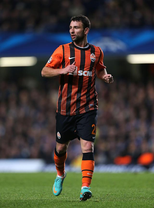 File photo dated 07/11/2012 of Shakhtar Donetsk's Razvan Rat.